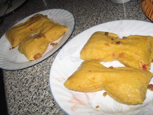 Receta tamal cubano