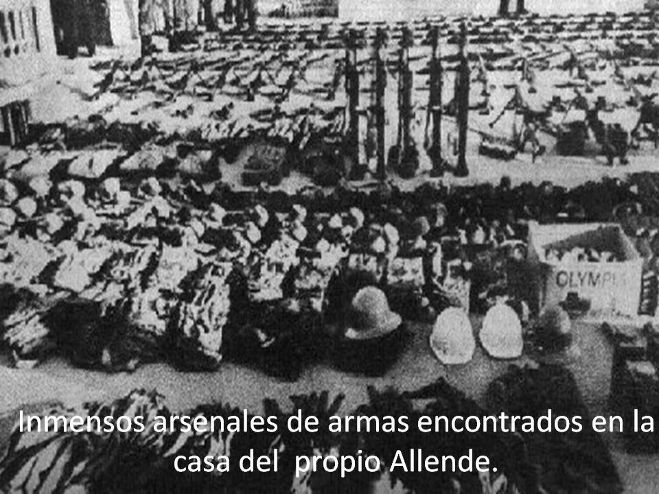 Allende violo los DDHH 03-Armas-encontradas-en-casa-de-Allende
