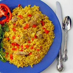 Cuban cuisine cuban arroz con pollo chicken with rice for Azafran cuban cuisine