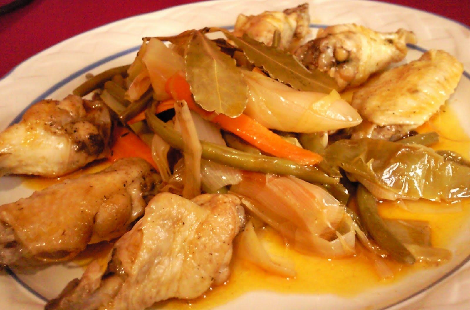 Cuba cuisine marinated chicken recipe photos for Cuisine history