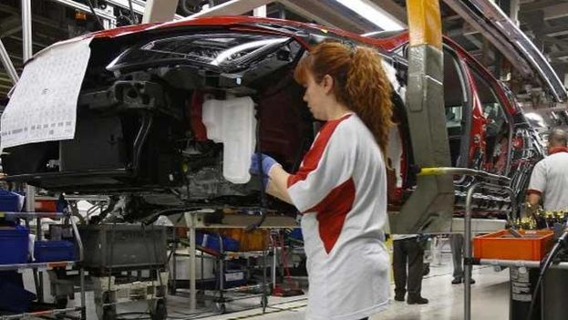 Martorell Spain  city images : Seat Factory Assembly line in Martorell, Spain