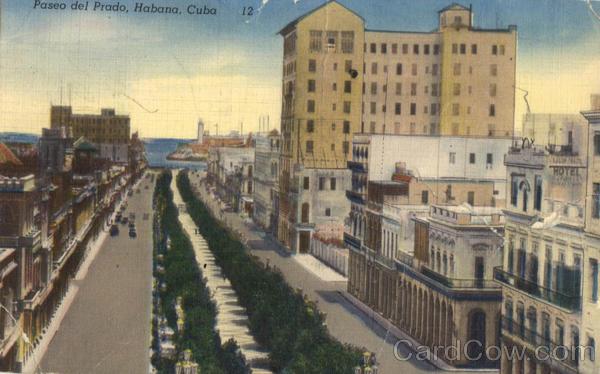 El Paseo Del Prado La Havana Memories 1