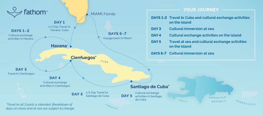 New cruise lines will travel from florida to cuba se multiplican cuba map v4r gumiabroncs Image collections