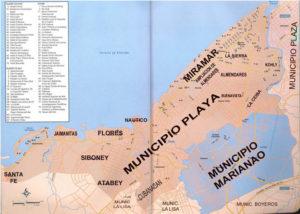 Municipios al Oeste de la ciudad de La Habana