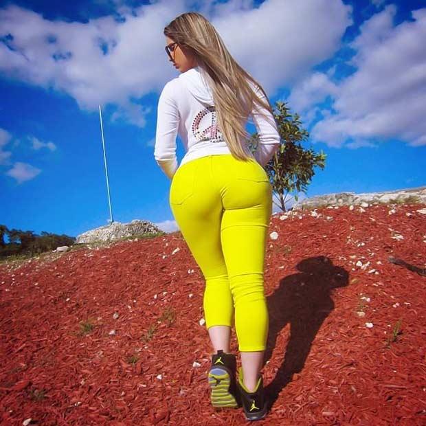 фото большие кубинские попки моделей
